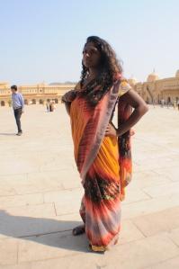 Nisha in Sari